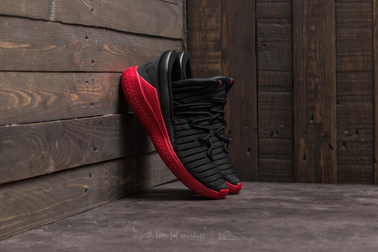 273a6c2363eaaa 883412805148 UPC - Jordan Flight Luxe Black  Gym Red Gym Red
