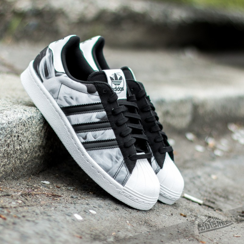 Superstar Vulc ADV Shoes Black, Black Leather, White In Stock at The