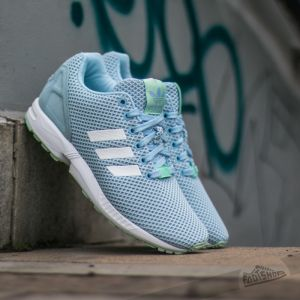 adidas ZX Flux W Clear Sky/ Ftw White/ Fro Green