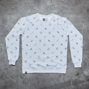 Dedicated x Star Wars Sweatshirt Space Ships Grey