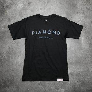 Diamond Supply Co. Yacht Type Tee Black