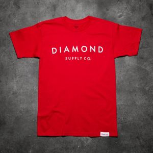 Diamond Supply Co. Yacht Type Tee Red