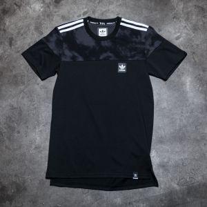 adidas Blackbird Blocked Tee Black/ Solid Grey
