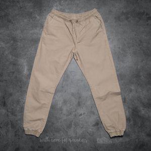 Urban Classics Washed Canvas Jogging Pants Sand