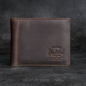 Herschel Supply Co. Hank Leather Wallet Nubuck Leather