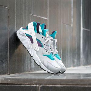 Nike Air Huarache Wolf Grey/ White-Aquatone-Purple Dynasty
