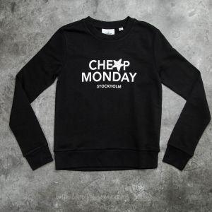 Cheap Monday Win Star Logo Sweat Black