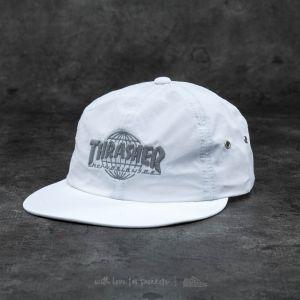 HUF x Thrasher Tour De Stoops 6 Panel Cap White