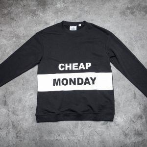 Cheap Monday Block Logo Victory Sweat Black