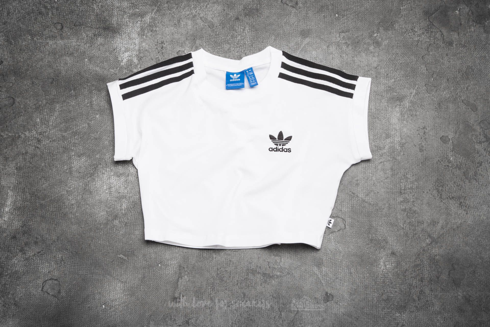 adidas Cropped Top White